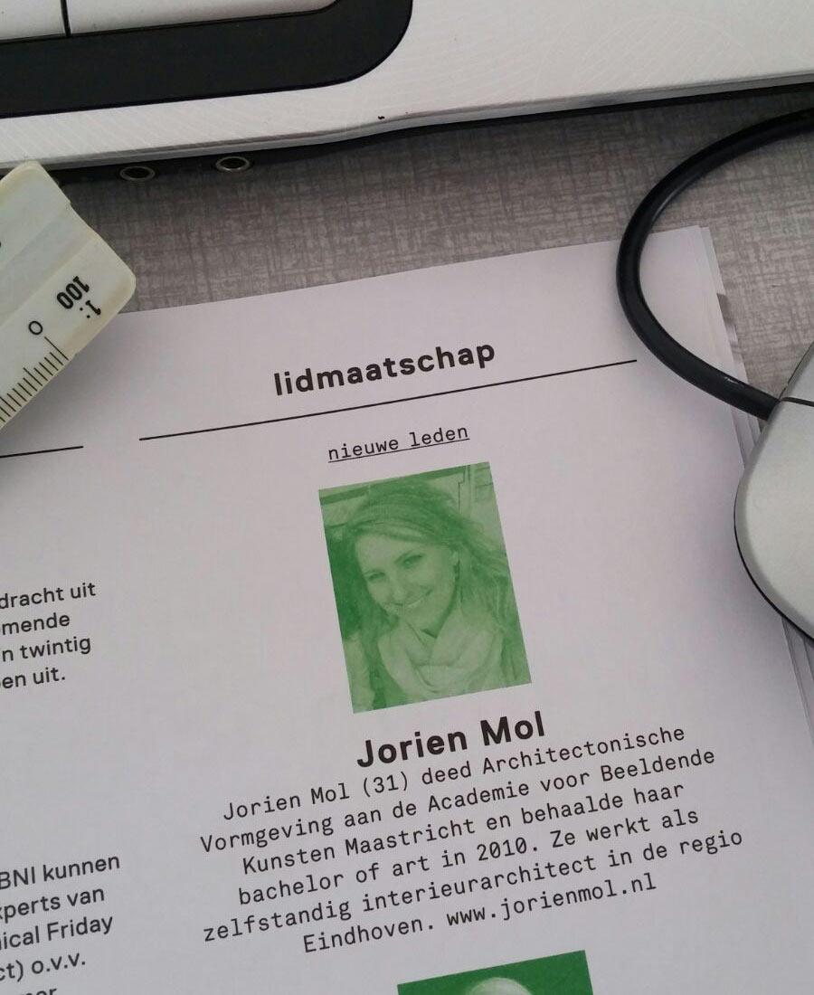 Jorien Mol - interieurarchitect Eindhoven